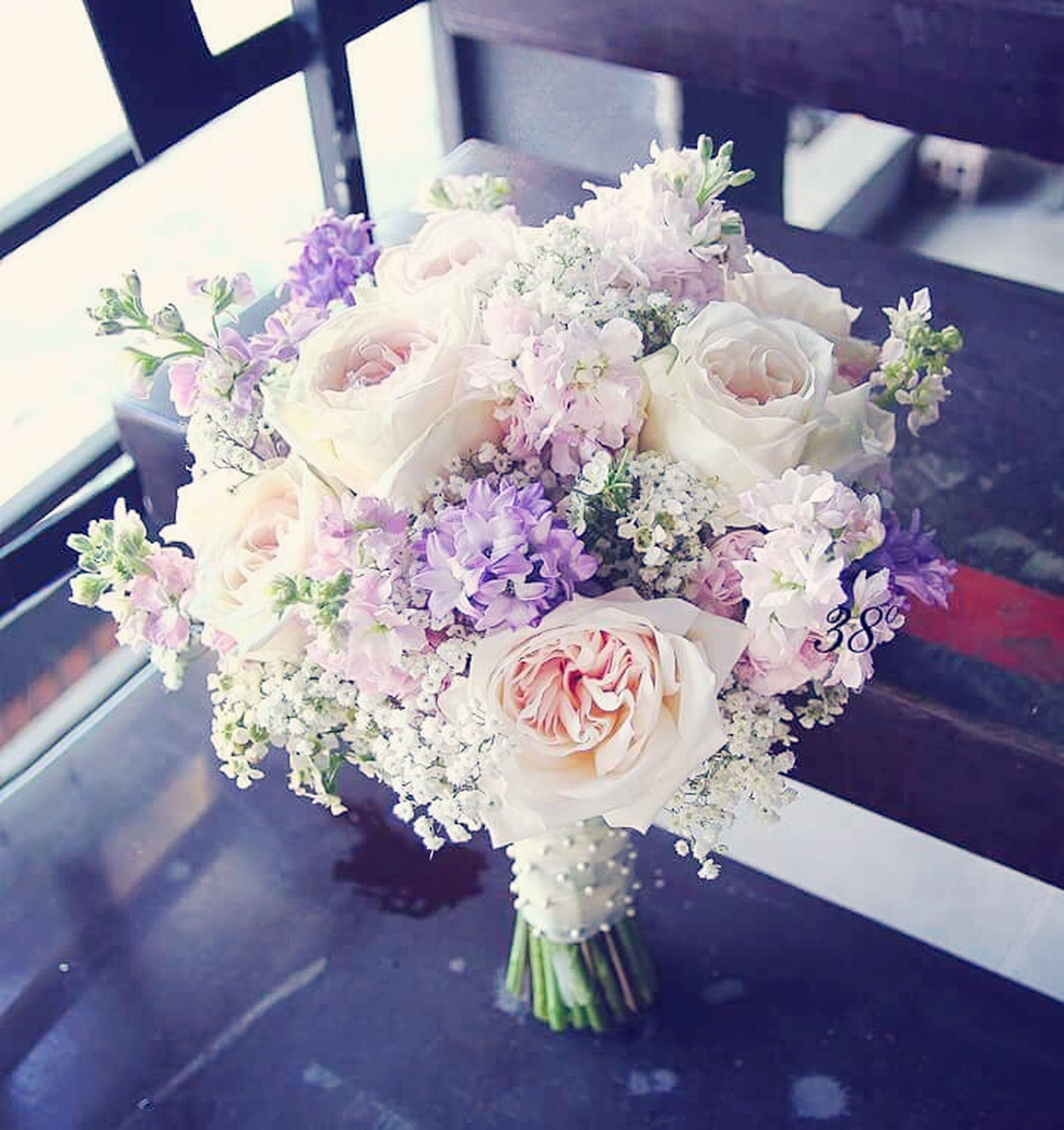 flower, freshness, fragility, indoors, bouquet, bunch of flowers, no people, table, close-up, flower head, day, flower arrangement