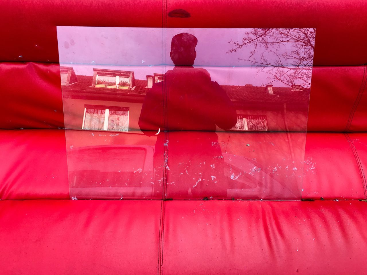 Warmness... Red Rear View Indoors  Christmas Day Getting Inspired Eyeem Market Exceptional Photographs From My Point Of View Reflection Streetphotography Art Pattern, Texture, Shape And Form Creative Light And Shadow Getting Creative
