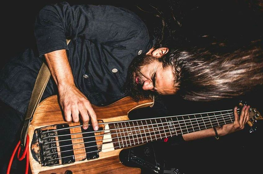 All my Kaijupower captured by Franco Gonzales Gass. Bass Player Bassist Metalhead Beard Perspective EyeEm Best Shots Popular Photos elperroartista Supernormal