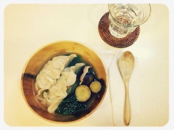 サツマイモ・椎茸・ほうれん草のボリューム美肌スープ