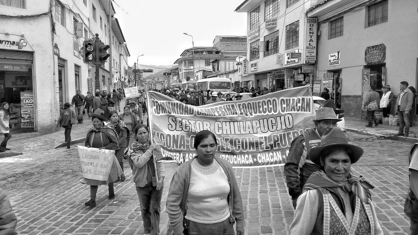 Manifestacion campesina, Cusco, Peru. City EyeEmNewHere Cusco, Peru Social Movements Agrarian People Socialism Social Justice
