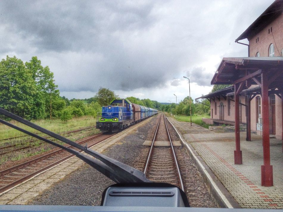 PKP Cargo Trainspotting Spring2014 Hanging Out