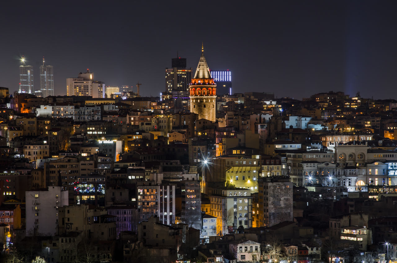 galta tower Architecture Building Exterior Building Story Built Structure Church City City Life Cityscape Galata Galtatower Illuminated Istanbul Istanbul City Istanbul Turkey Nature Night Photography Sky Skyscraper Spire  Tall - High Tower Travel Destinations Turkey Urban Skyline