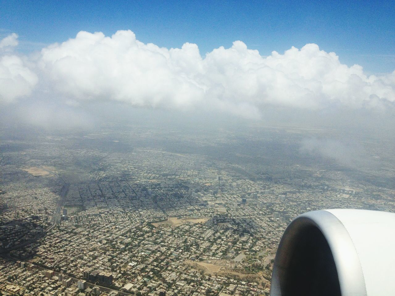 Traveling Home For The Holidays Karachi Aerial View Sky Cloud - Sky Airplane Beauty In Nature