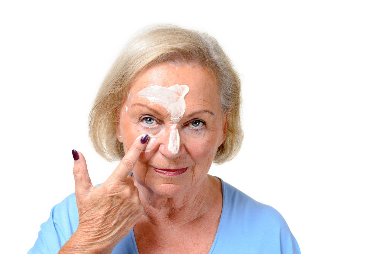Beautiful stock photos of medizin,  75-79 Years,  Applying,  Beauty,  Beauty Product