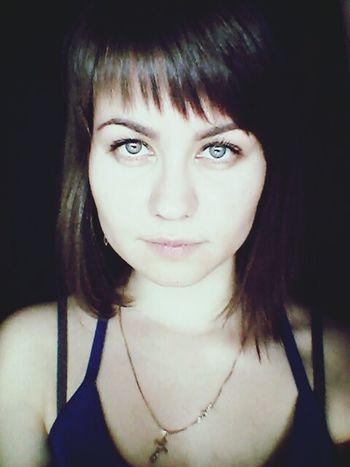 Hi! That's Me Hello World Russian Girl Happy Girl  Grey Eyes Myeyes Big Eyes Makeupartist Nude Make Up