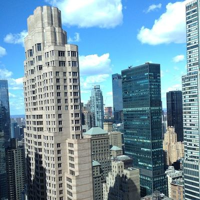 Decent view from my hotel Newyork NYC Hilton