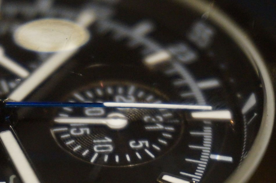 Cipher Sheet Close-up Digits Macro Pointer Time Watch