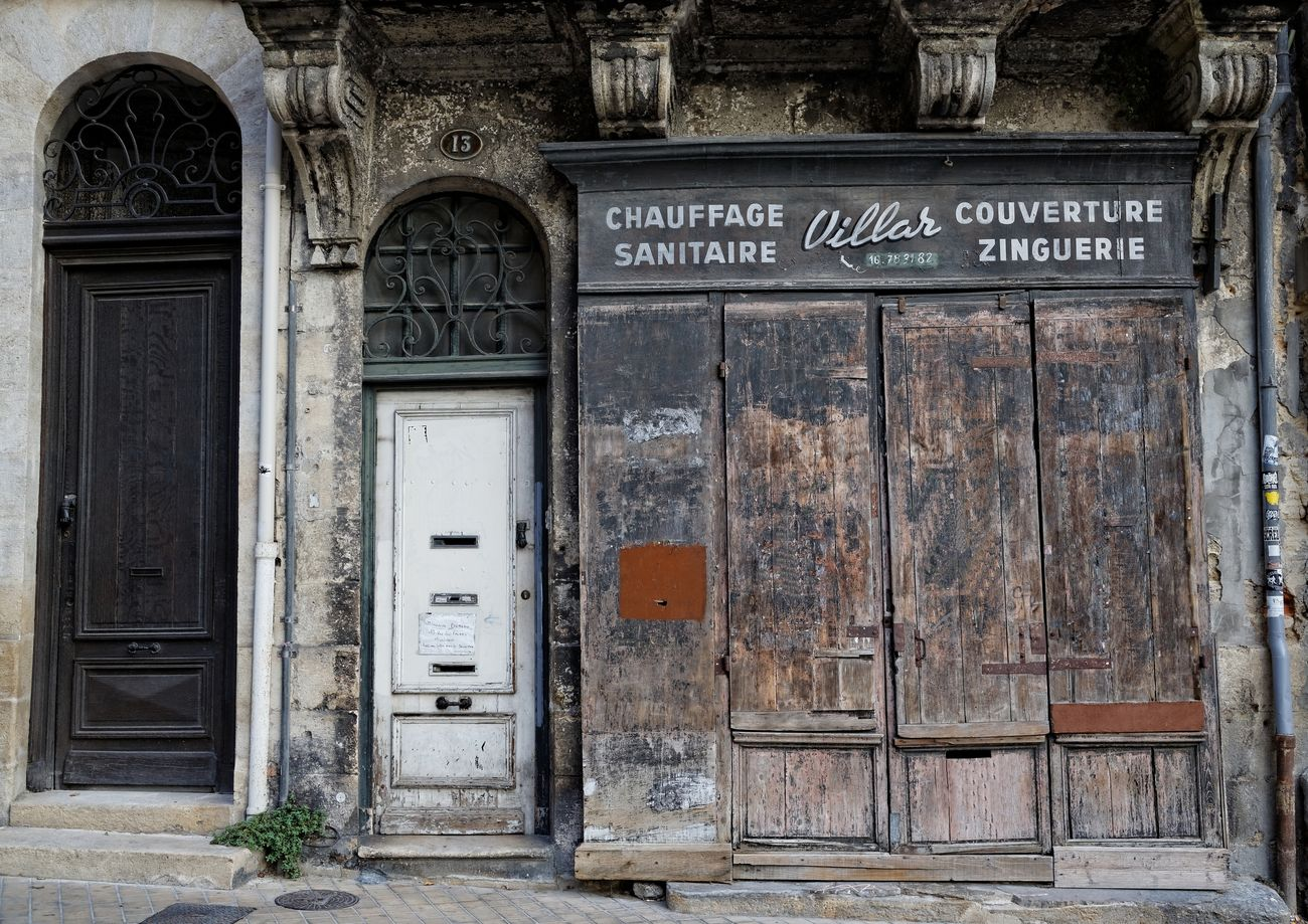 Architecture Bordeaux Canon Eos 5d Mark Iii Canonphotography Closed Commerce Door No People Old Buildings