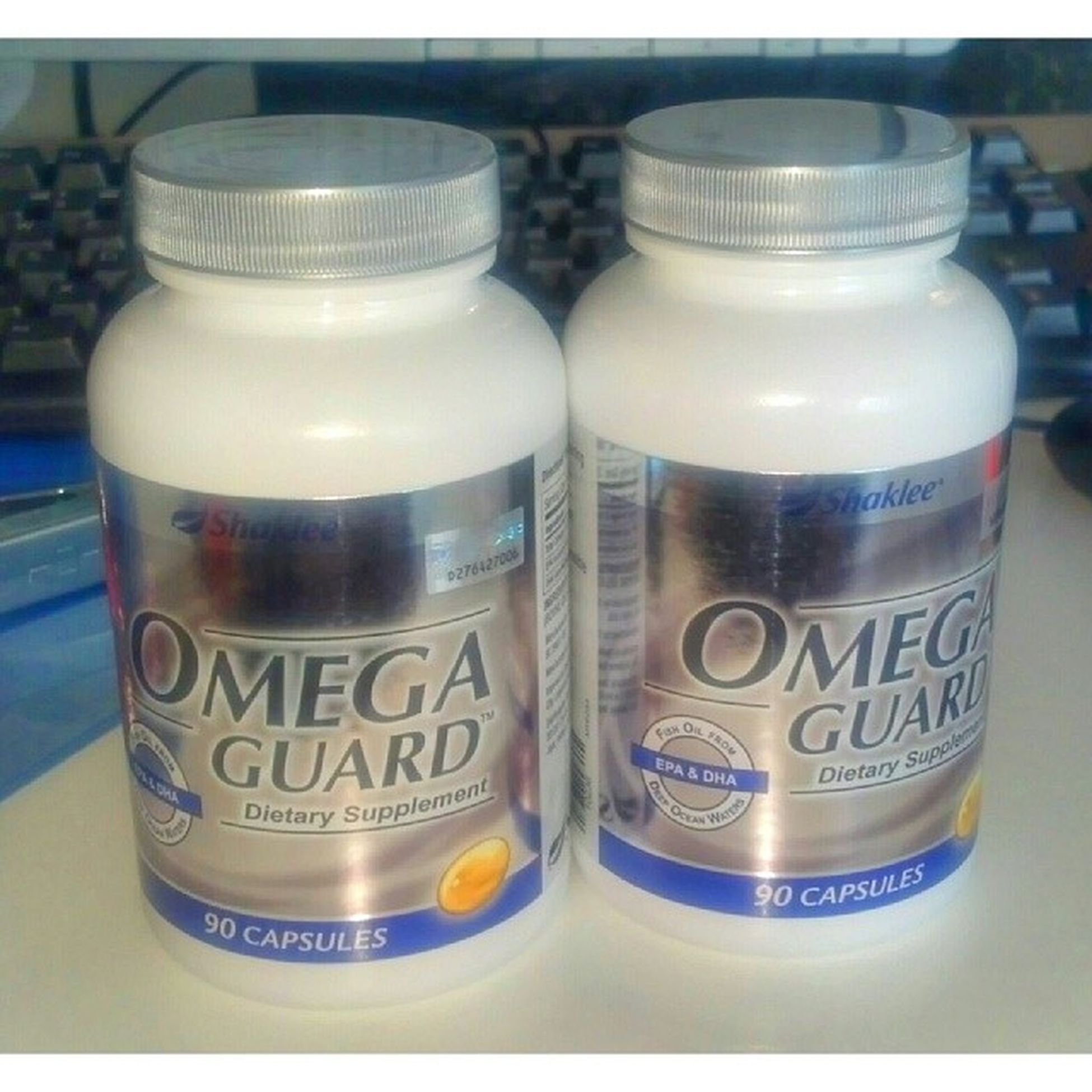 OmegaGuard Shaklee utk kesihatan saya dan encik suami. Hehe