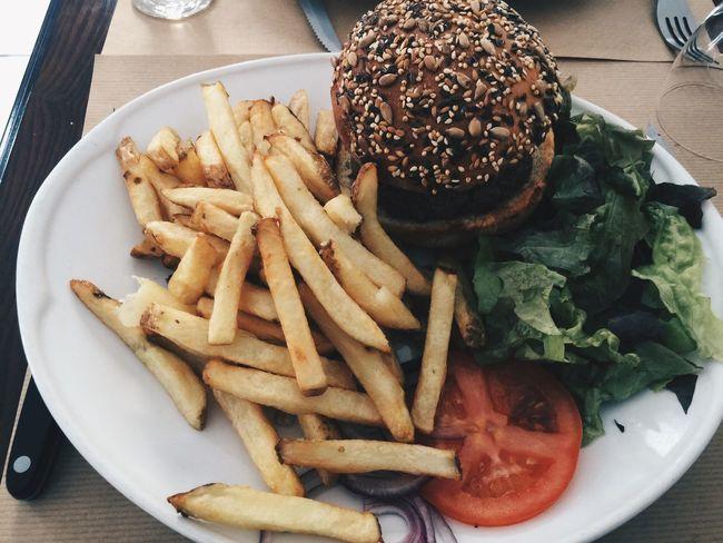 Burger Burger And Fries Burger And Chips Fast Food