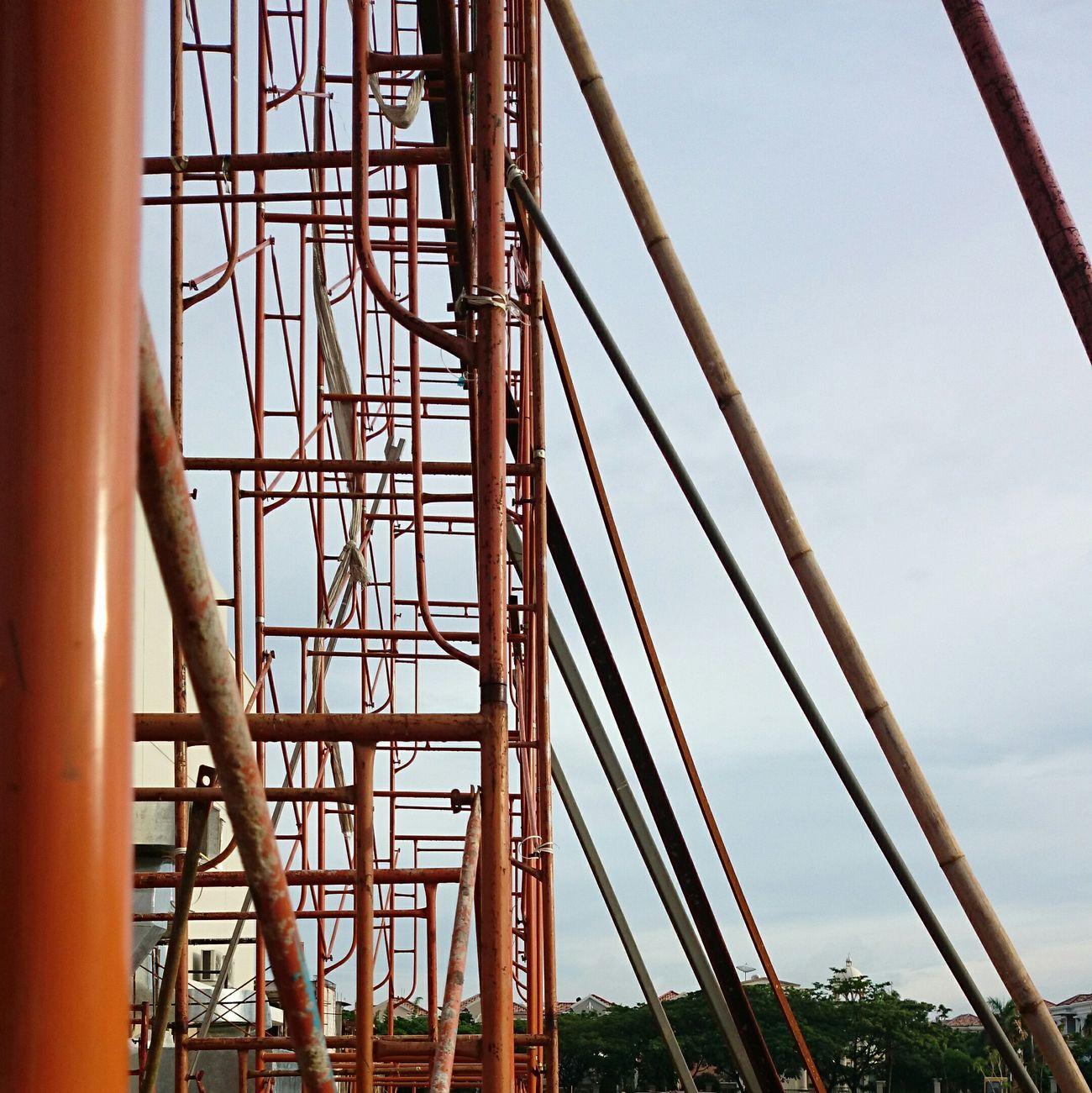 Building Exterior Progress Work In Progress Architecture Structures Scaffolding Explore Jakarta Jakarta Indonesia