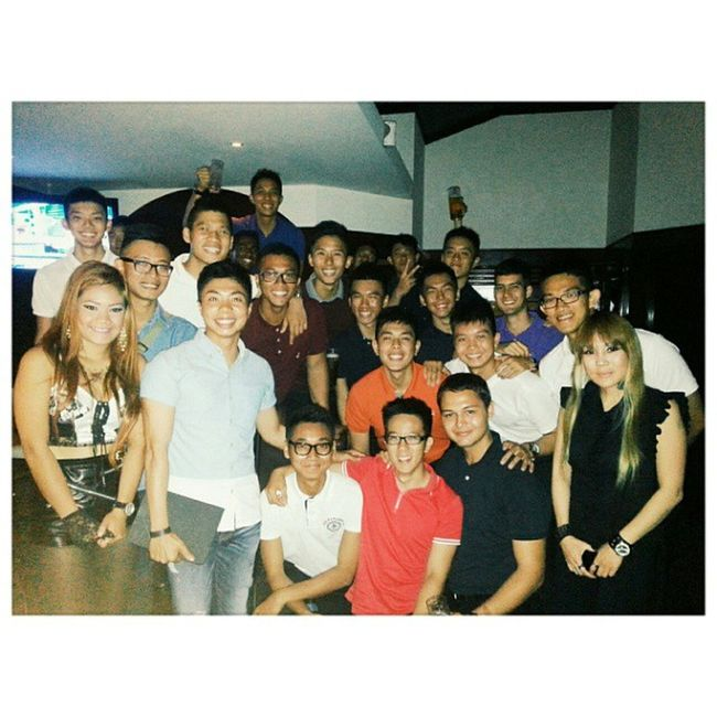 Once again, another crazy evening with the dudes :) Hotel Platoon 3