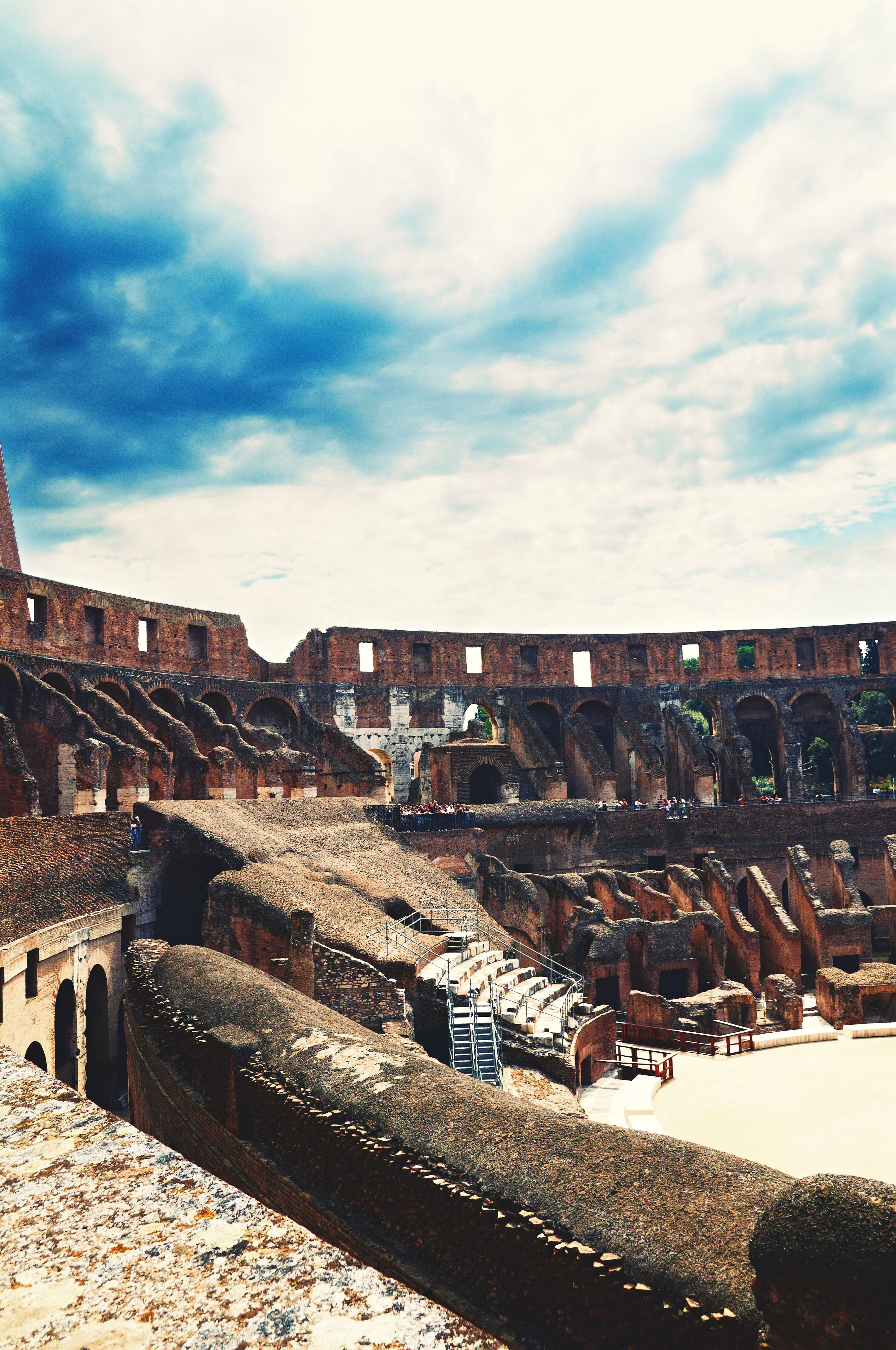 Architecture Built Structure Building Exterior Sky Outdoors Day No People City Colloseo