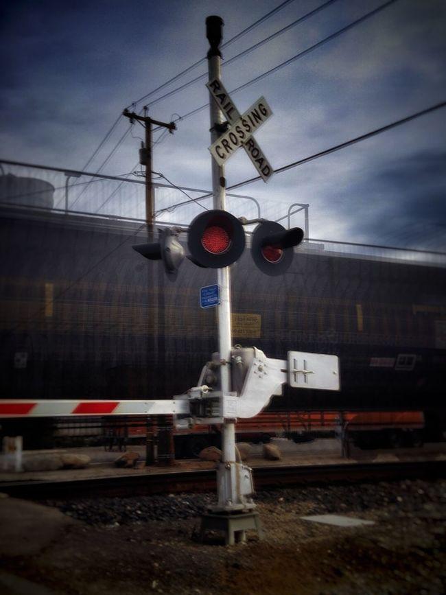 Waiting on a train... Americana