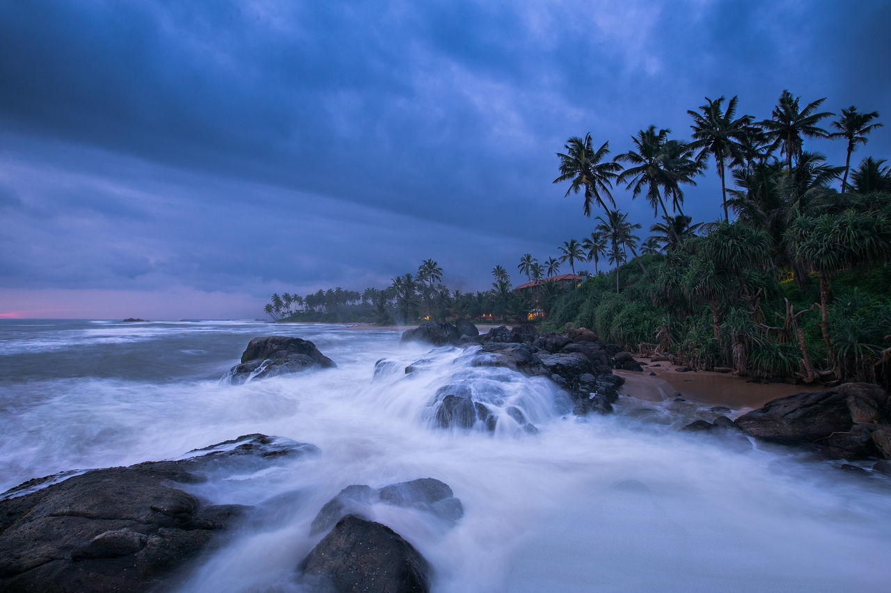 Horizon Over Water Water Sky Sea Nature Tree Long Exposure Beauty In Nature No People Scenics Wave Beach Cloud - Sky Outdoors Day