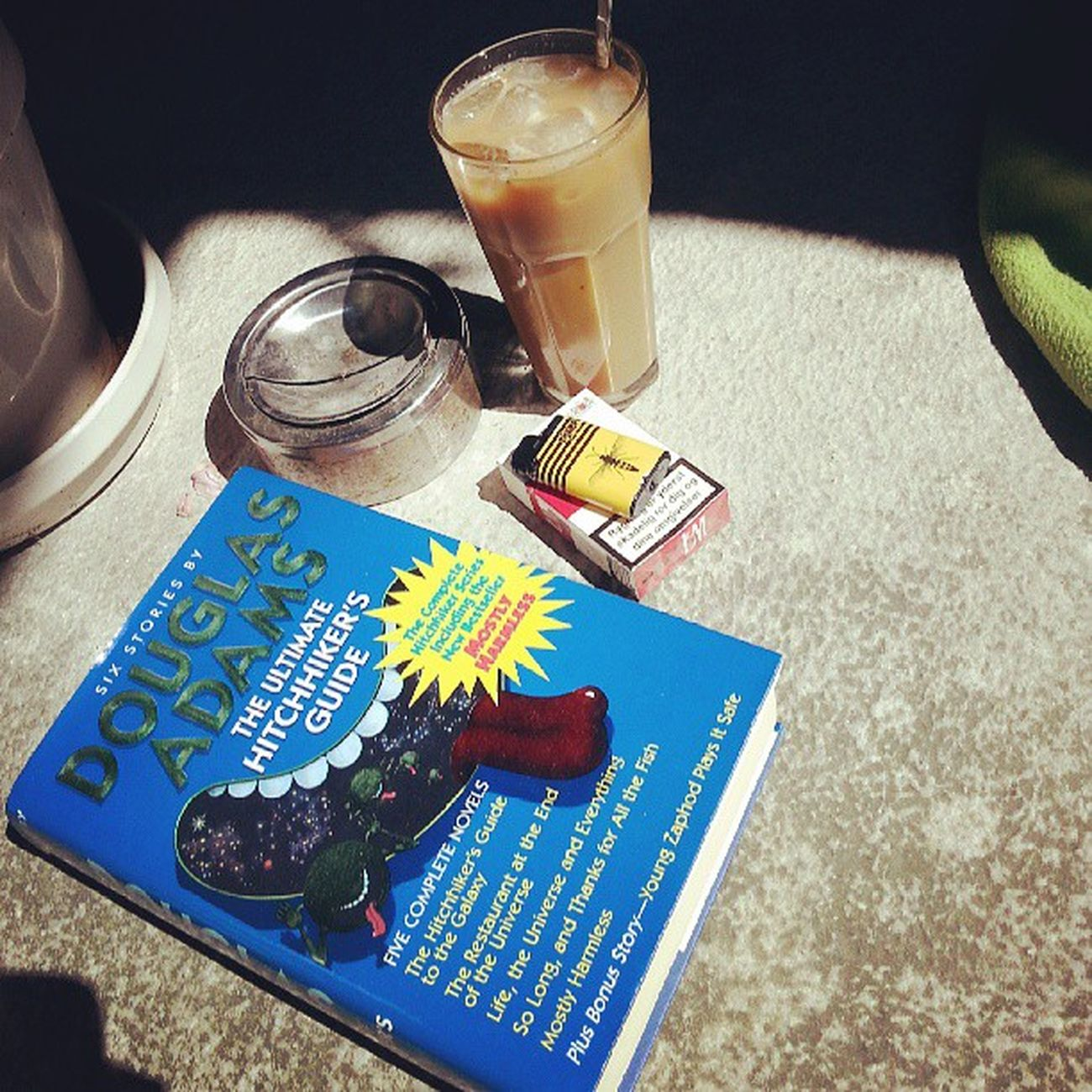 Saturday Chillin With Ice Coffee And DouglesAdams The Ultimate Hitchhikers Guide To  The Galaxy 42