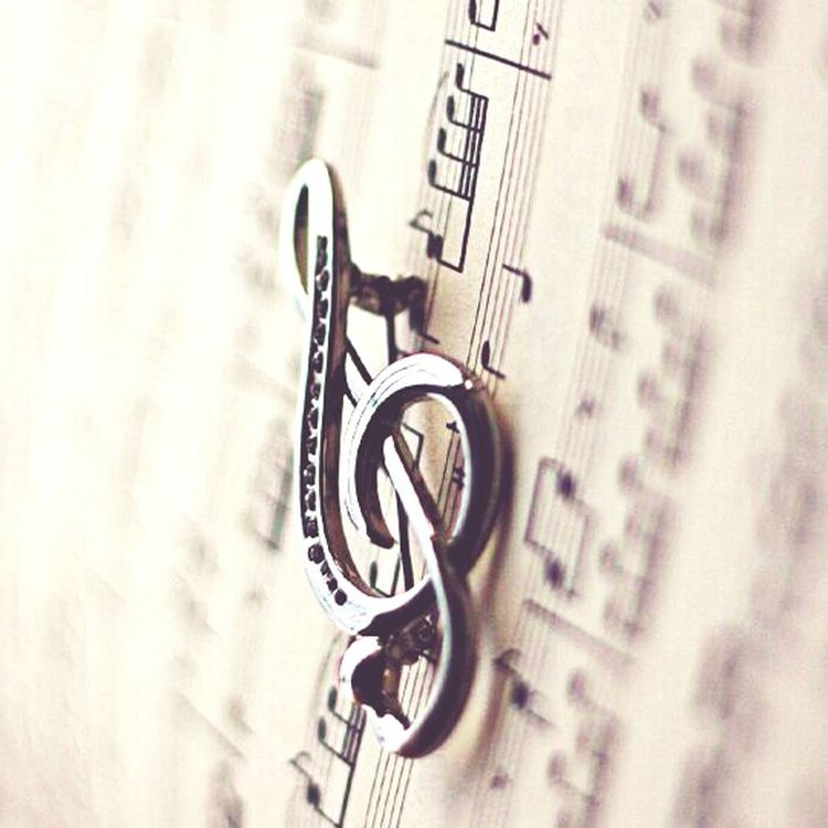Music Clef Music Love Love