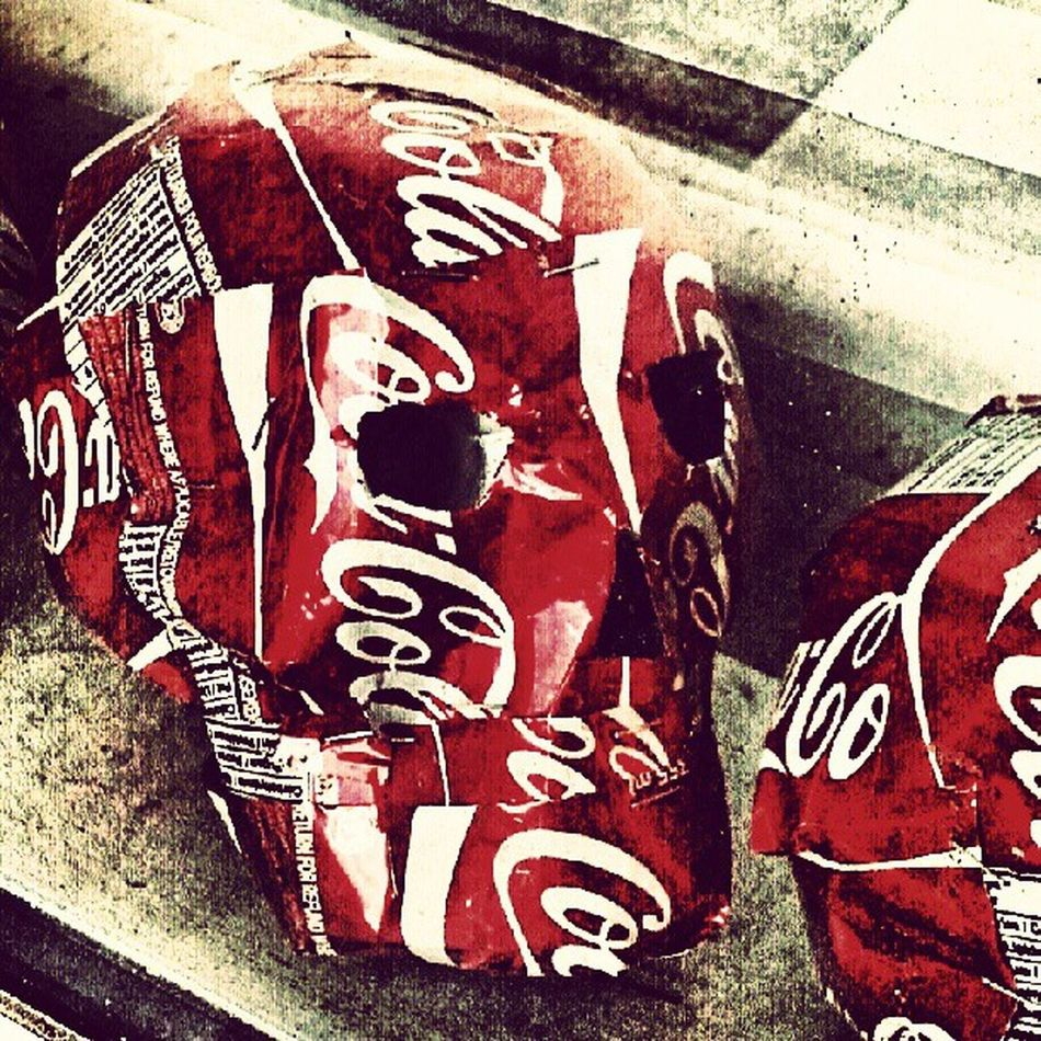 Coke Adds Life! Sculptures Recycling Art Satyr corporations