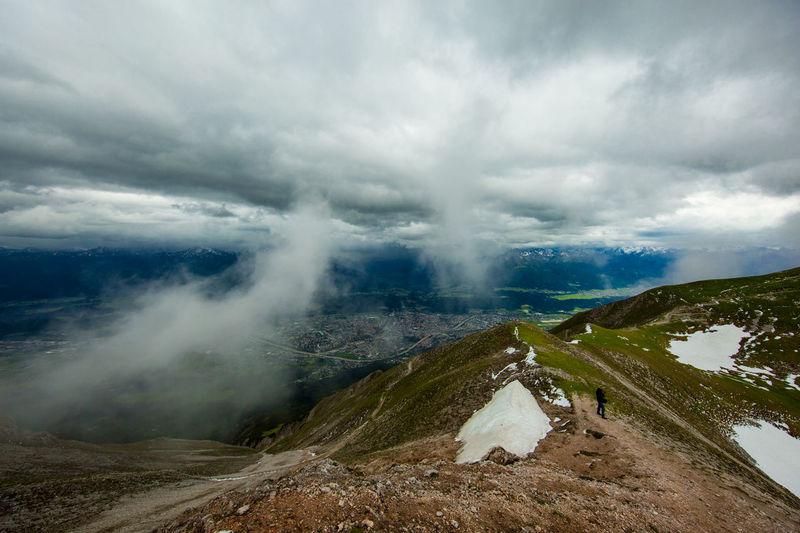 Austria Austrian Alps Innsbruck Innsbruck By Night Mountain Hiking Mountain View Mountains And Sky Sheep