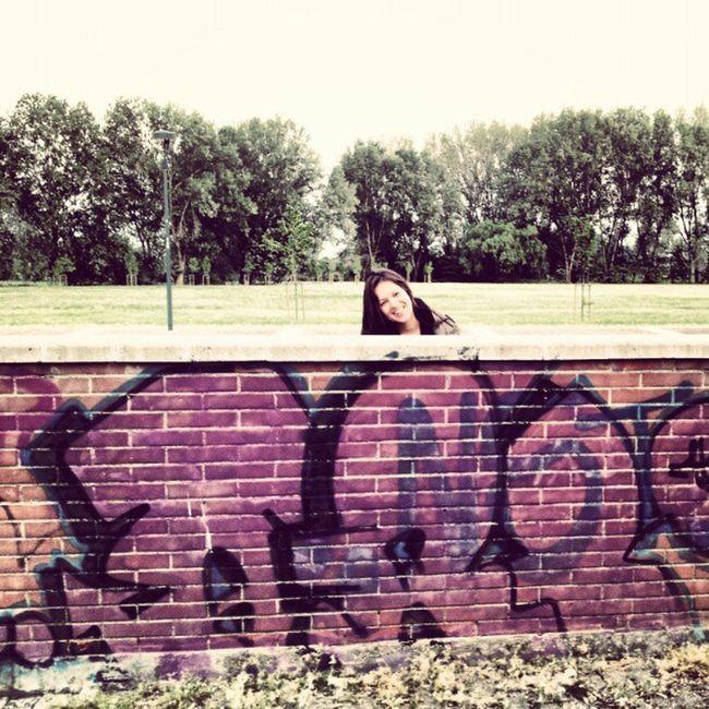 Wall Grafit Girl @gagapiano Streetartisty