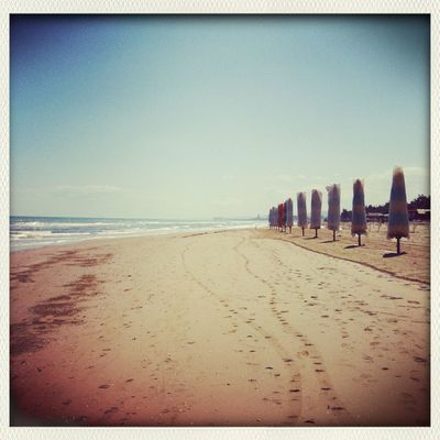 beach at Pescara by Alessia Caputo