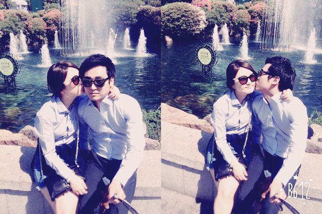 Everland My Love Lovely Love Enjoying Life Flowers Park Couple Roses I Love You ❤