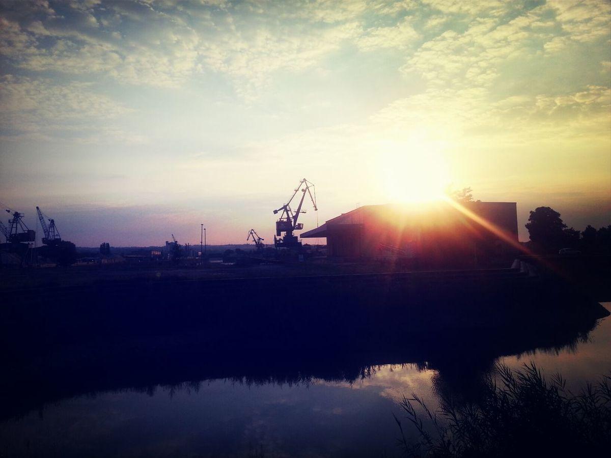Harbour Dresden Fotoclub Sunset