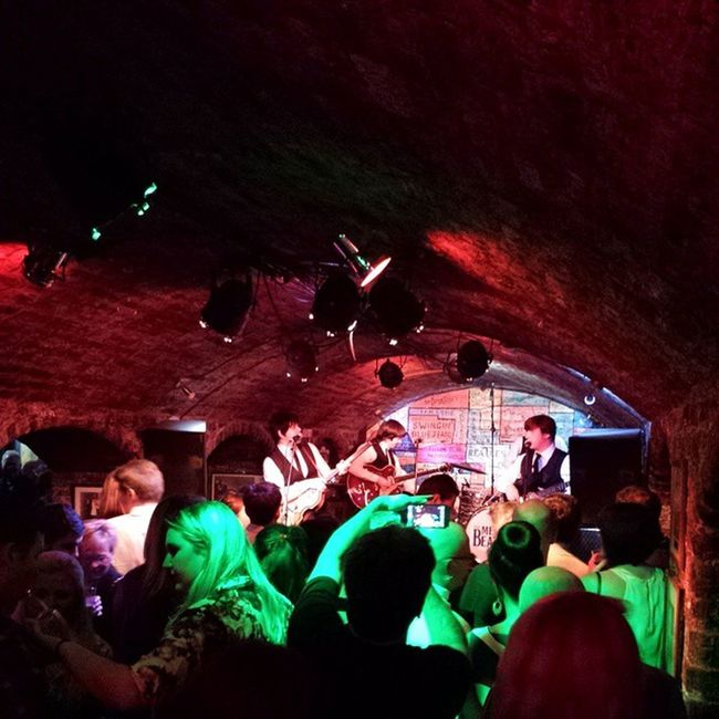 Tributo a The Beatles en @cavernliverpool