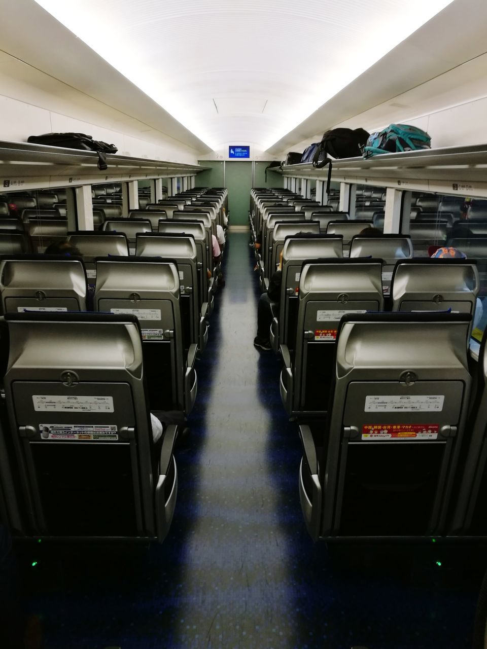 vehicle interior, transportation, in a row, vehicle seat, indoors, mode of transport, travel, no people, illuminated, day