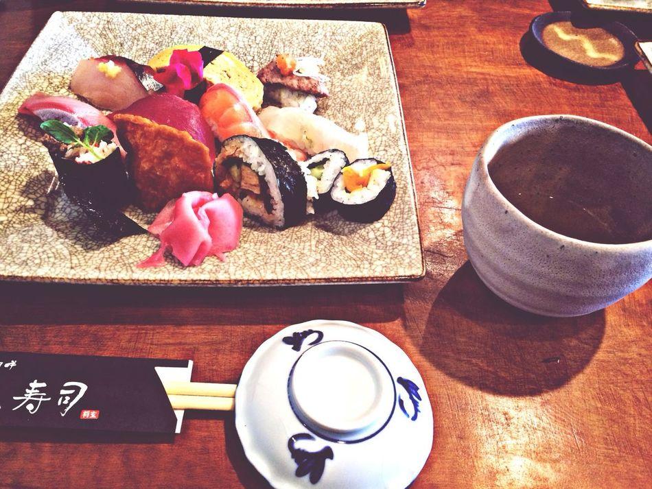 お客さんと* Sushi Eating Wasabi Nigiri