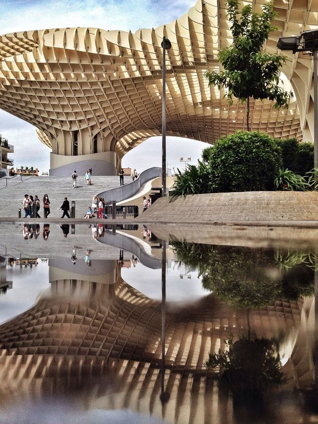 Metropol Parasol The Street Photographer - 2015 EyeEm Awards The Architect - 2015 EyeEm Awards Youmobile Mobilephotography Streetphotography NEM Street NEM Architecture Iphoneonly EyeEm Best Shots