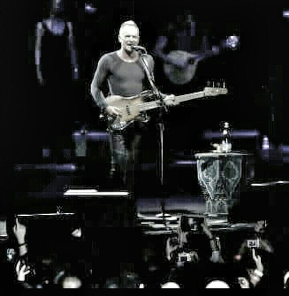Throwback when Sting did his performance. Music Concert Enjoying The Show! Musician Photography Canon Camera Have Fun