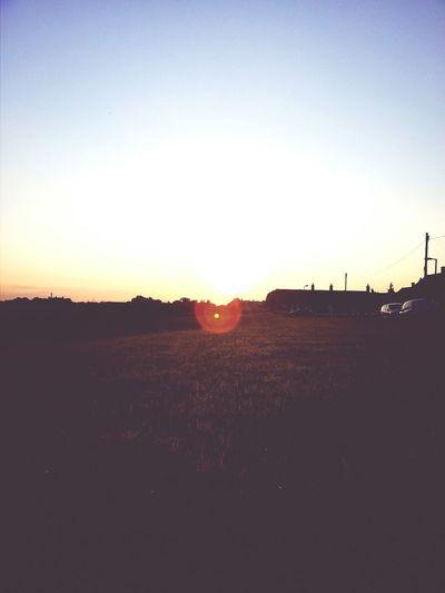 Taking Photos Sun Set Sky Enjoying Life