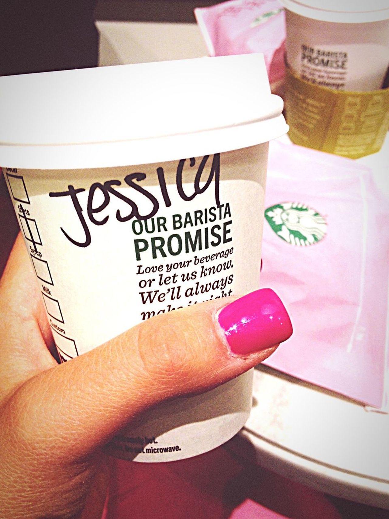San Francisco Starbucks Coffee Jessica Breakfast Human Hand One Person Human Body Part Day Women City Travel