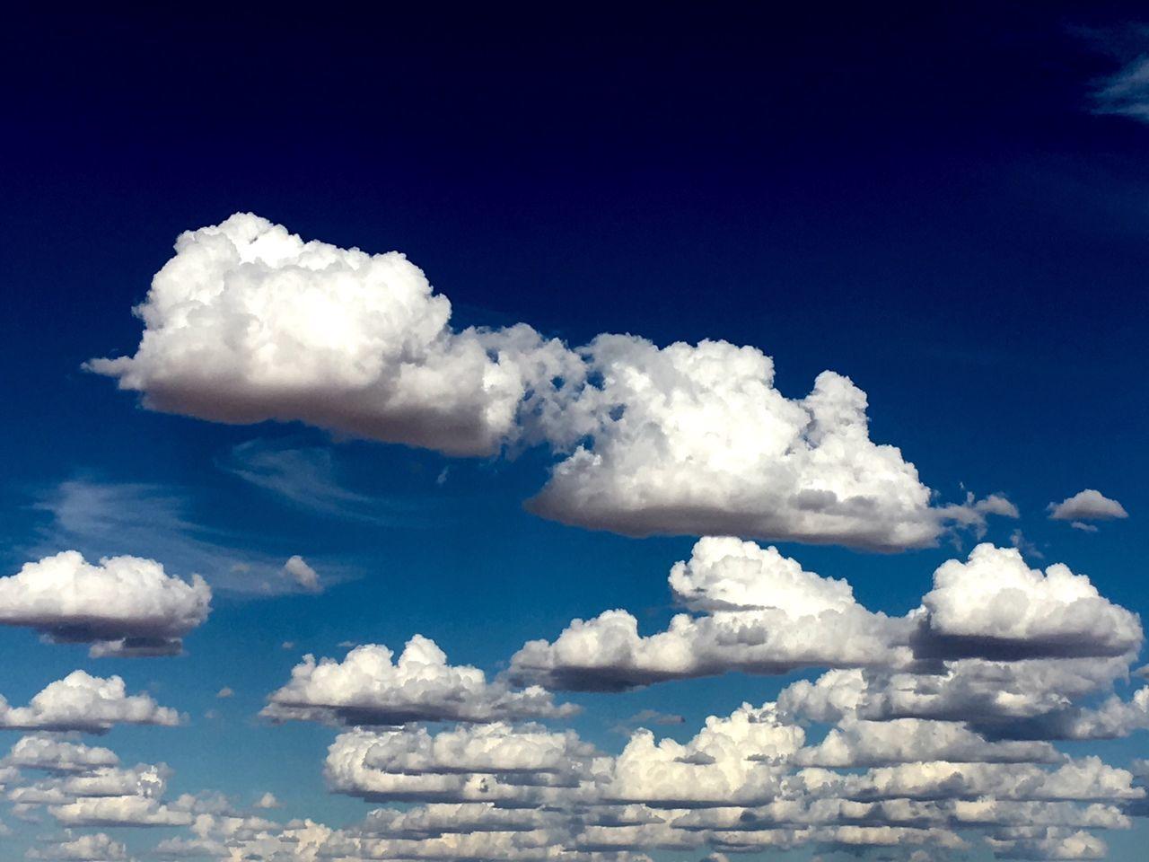 Clouds Cooper Basin South Australia