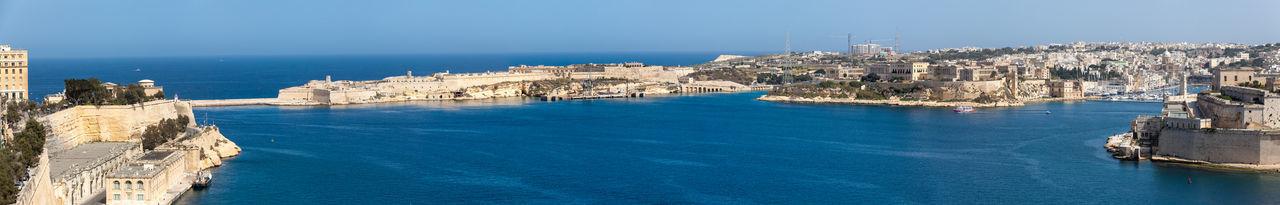Grand Harbour City Malta Panorama Valletta European Capital Of Culture 2018 Valletta,Malta Grand Harbour Street Photography Valletta