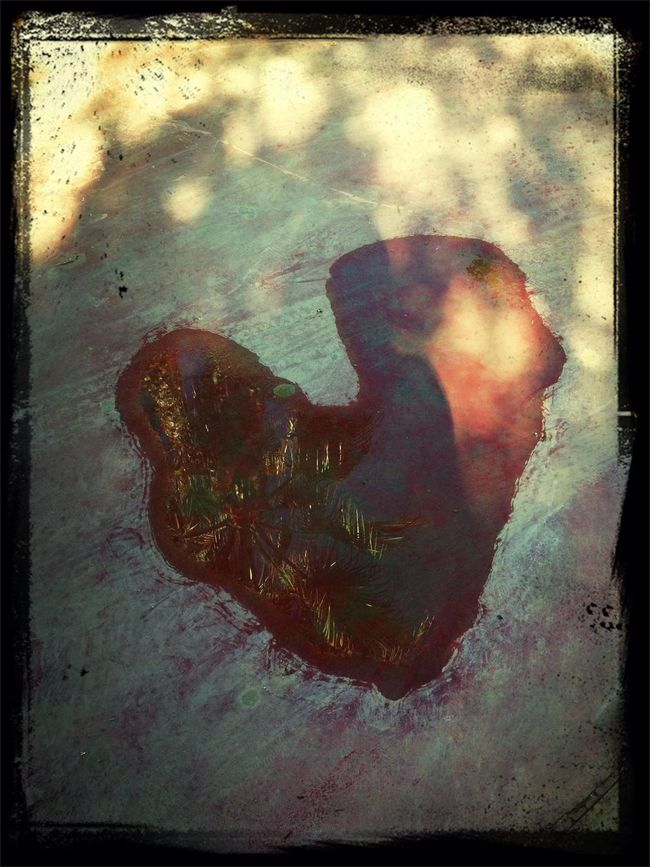 Love is in the...... Puddle