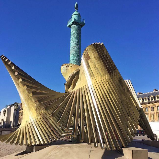 Bonne Soirée! Sculptures Place Vendôme Eyem Best Shot - Architecture Paris EyeEm Best Shots Parisweloveyou Sculpture Statue Paris ❤ Photooftheday City Life