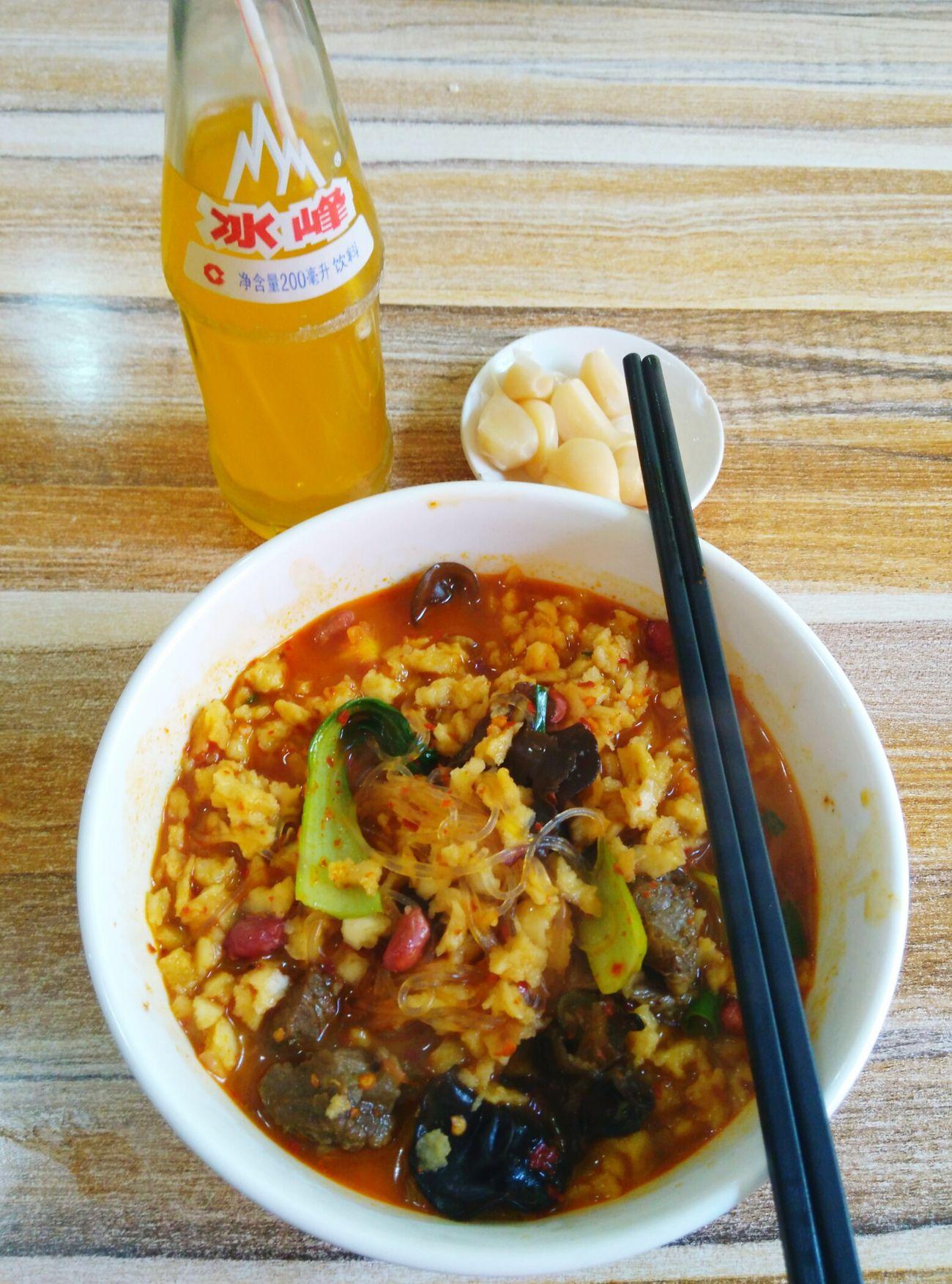 泡馍小炒 冰峰 Lunchtime