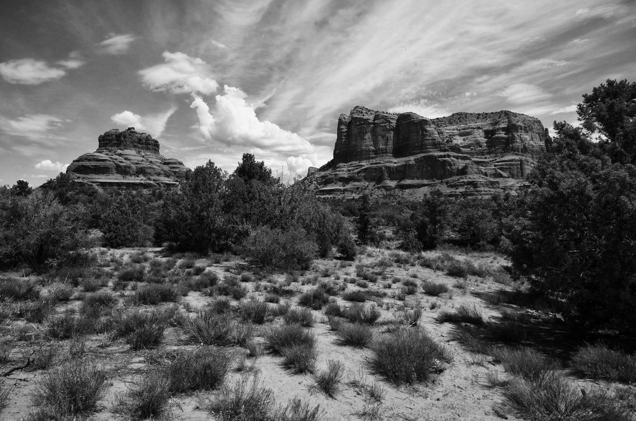 Ancient Civilization Arizona, USA Black & White Cloud - Sky Desert Beauty Famous Place Landscape, Sedona, Arizona Sky The Vortex, Tourism Travel Destinations