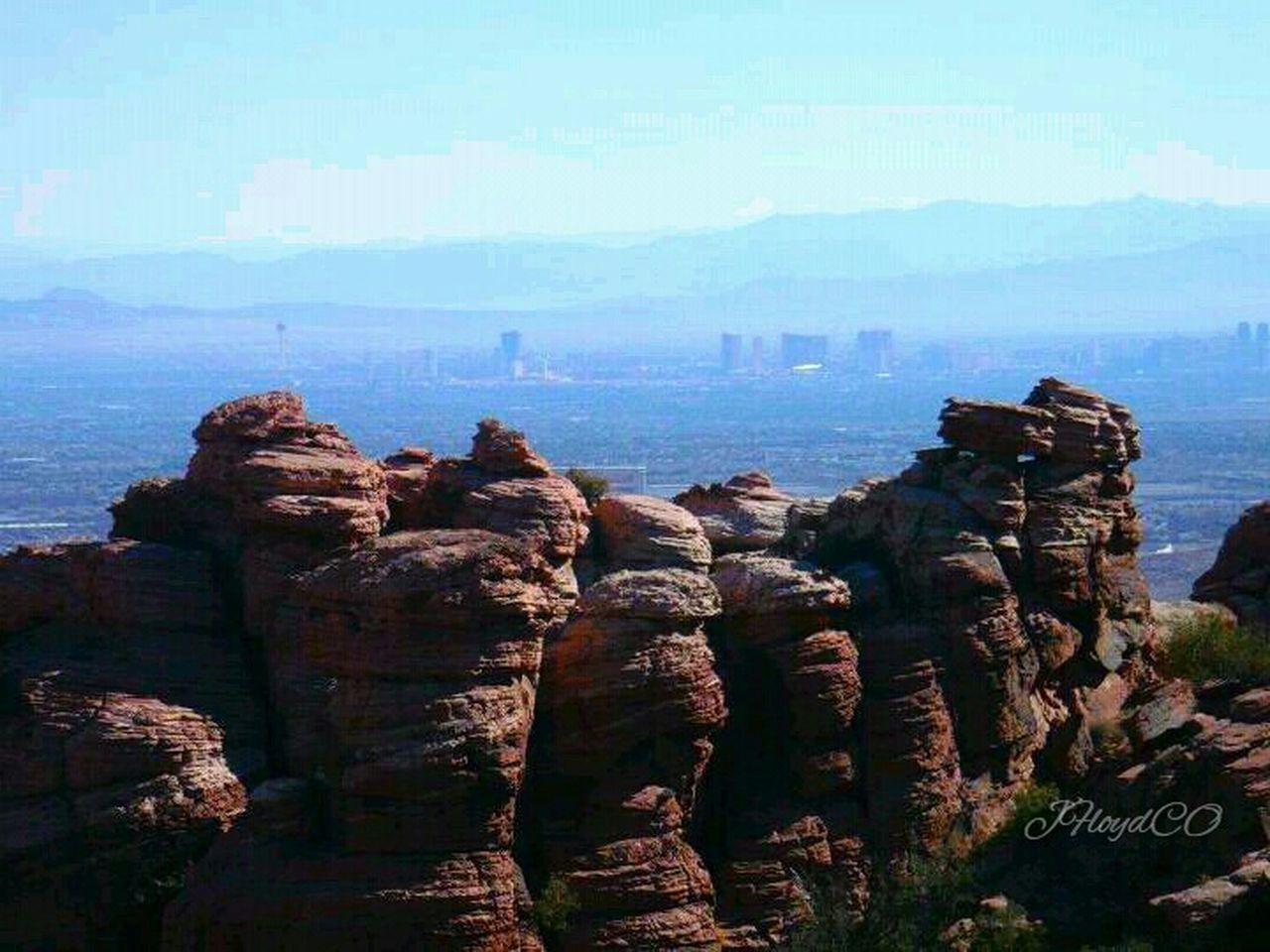 Landscape Taking Photos Scrambling Red Rock NCA