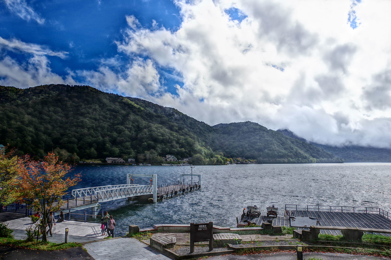 中禅寺湖 日光 Beautiful Japan Nice View HDR HDR Collection Hdr_gallery Landscape Green Cloud - Sky Water Day Blue