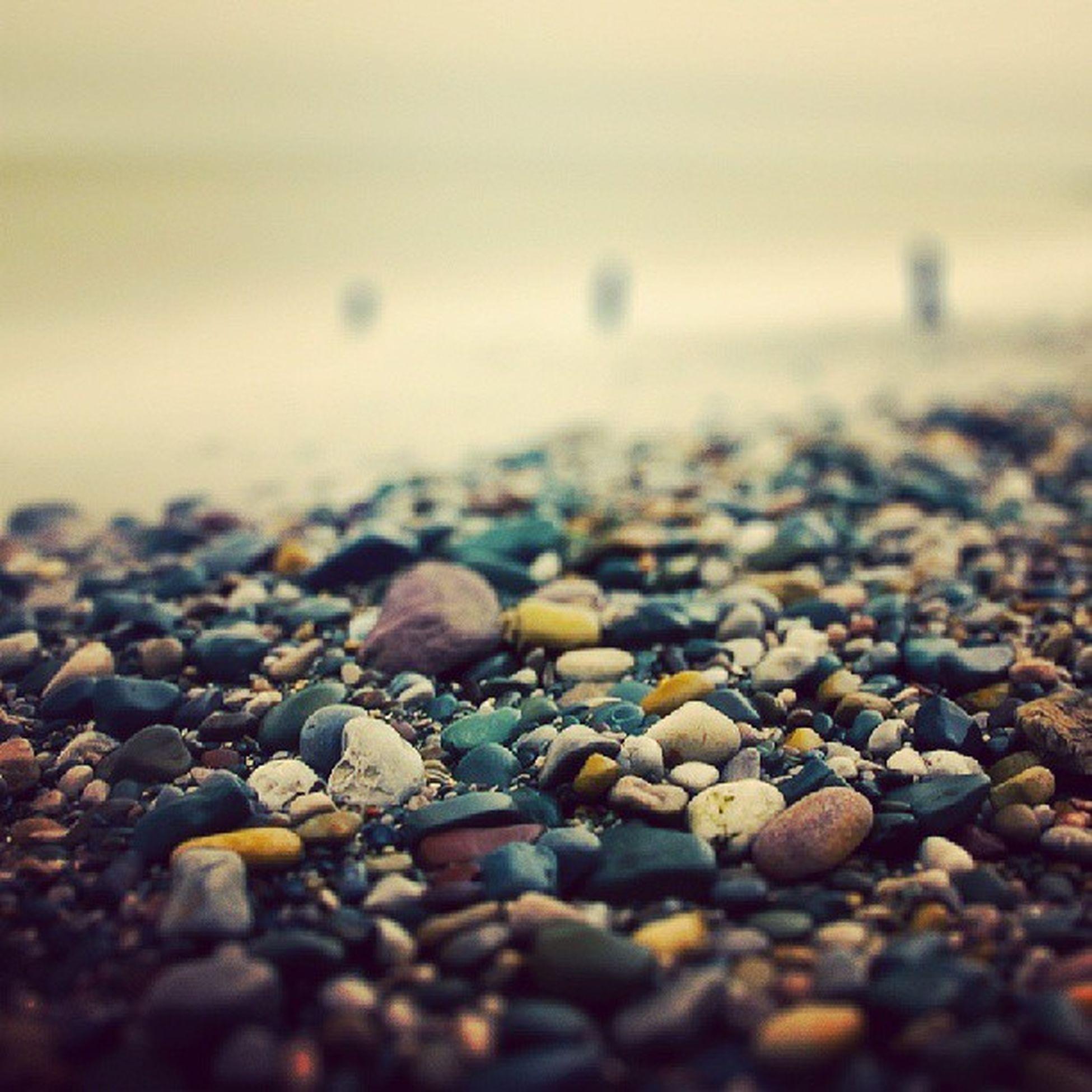 Sand Stone Pebels Beach