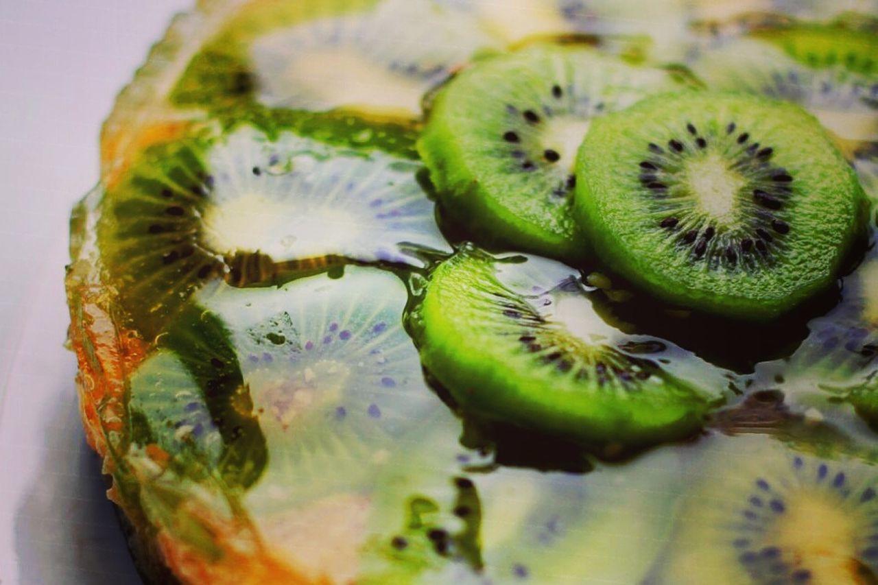 Jelly Cake Jellycake Sweets Tasty Kiwi Kiwicake Behappy