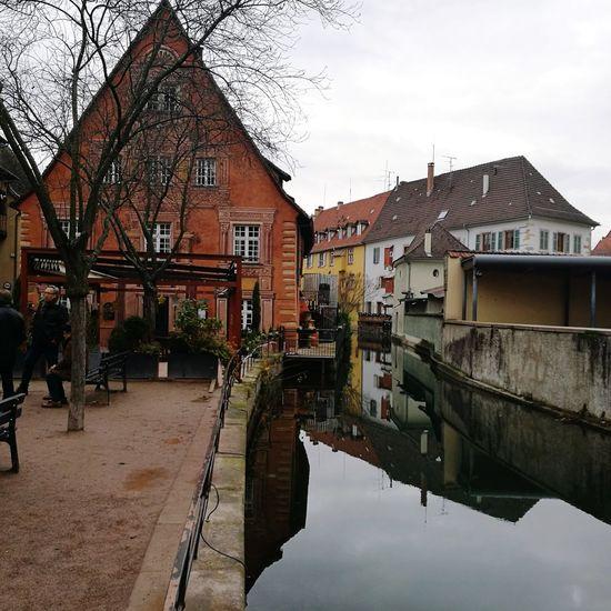 Reflection Colmar, Alsace, France Colmar Architecture Christmasmarket Marché De Noël Marché De Noel Colmar