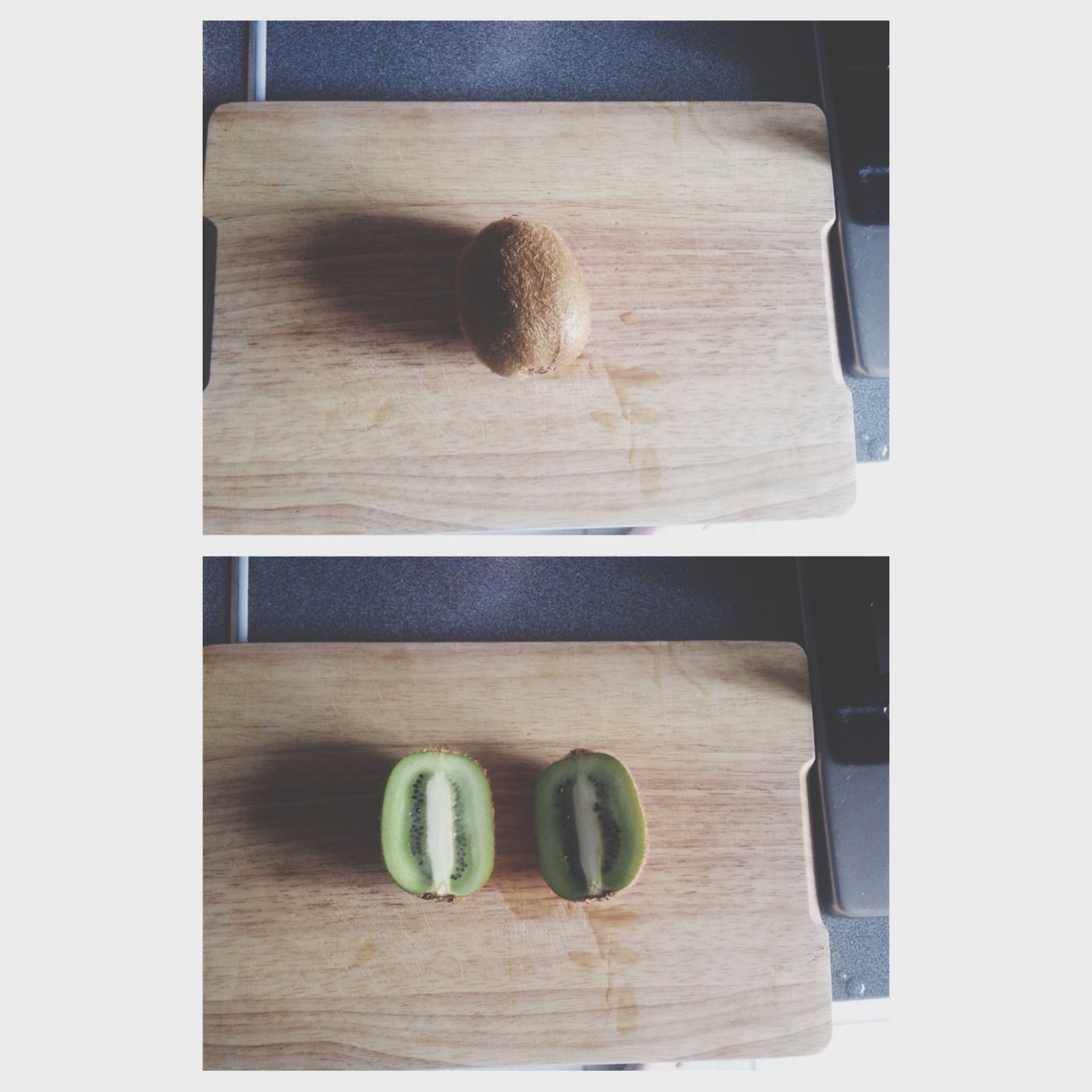 transfer print, auto post production filter, wood - material, food and drink, indoors, food, table, still life, wooden, wood, healthy eating, freshness, close-up, high angle view, no people, directly above, cutting board, vegetable, brown, fruit