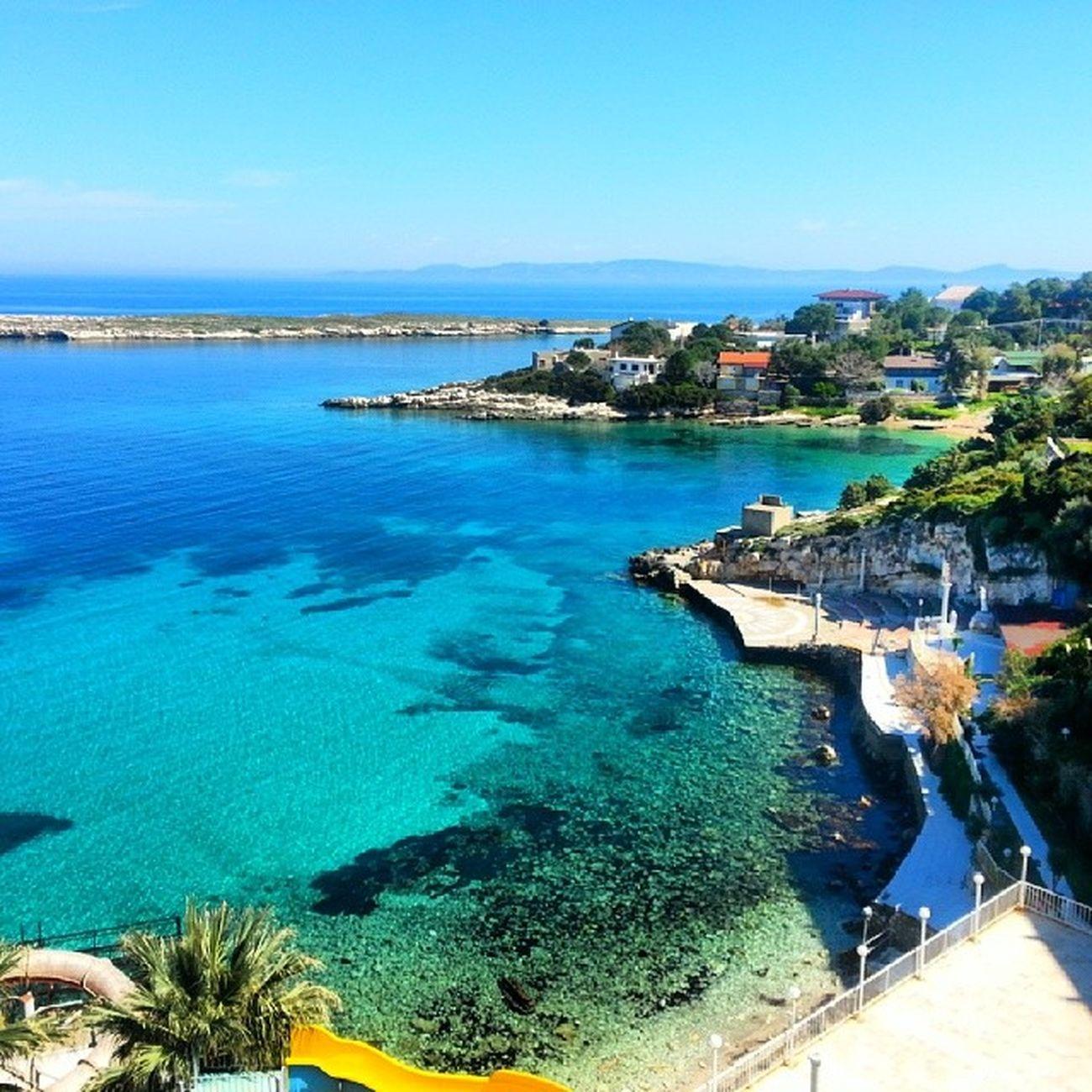 bambaşka bir yer Karaburun Izmir Sea Turkuaz