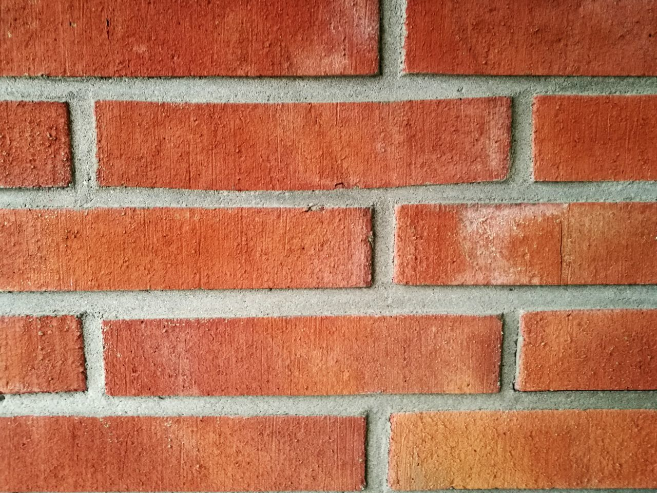 Wall - Building Feature Full Frame Brick Wall Pattern Backgrounds Built Structure No People Outdoors Close-up Red Textured  Building Exterior