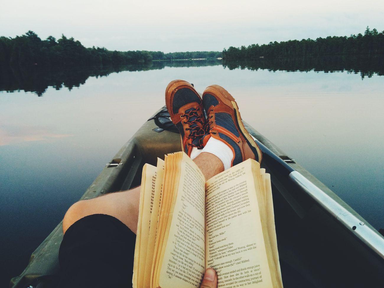 Summer evening on Atsion KayakLife Reading Lake Relaxing